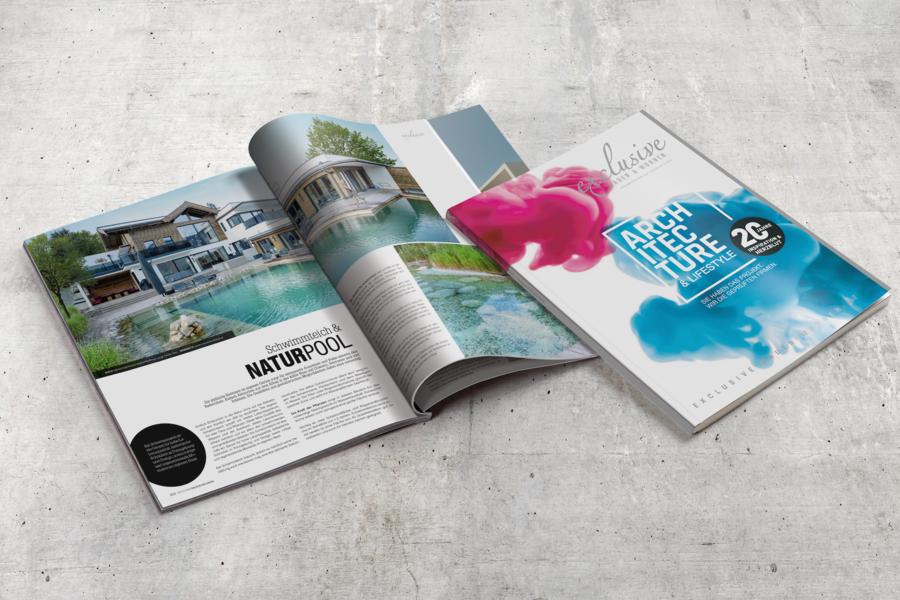 Gezielte Werbung Online Print Exclusive Bauen
