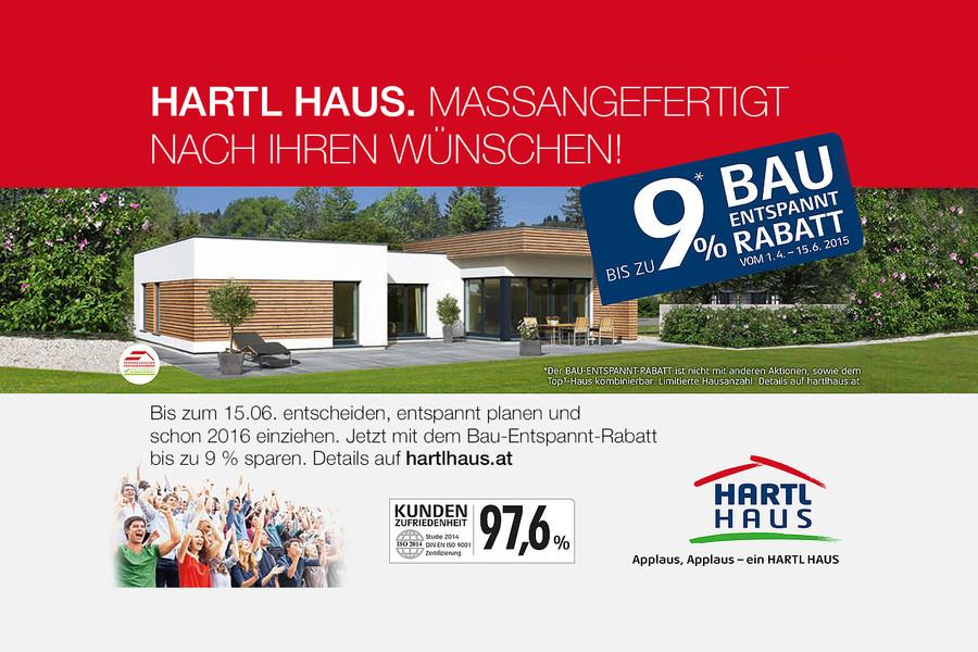 Hartl haus bau entspannt rabatt for Haus bauen firmen