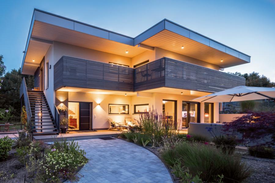 Dach exclusive bauen wohnen - Was kostet ein dachstuhl walmdach ...